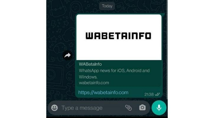 whatapp share link preview