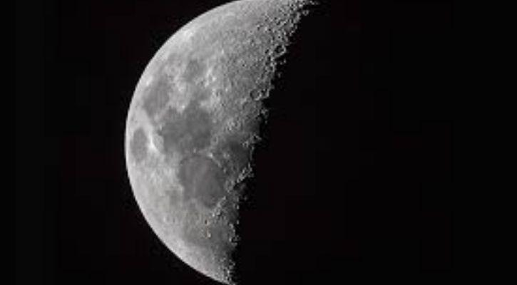 NASA moon floods