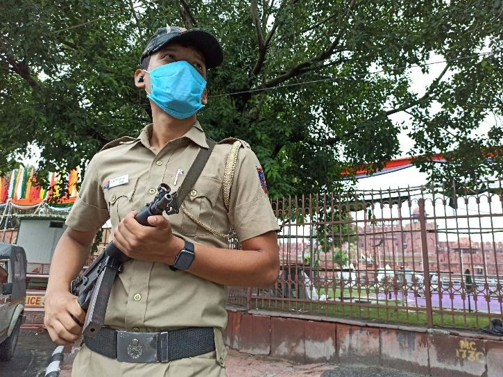 delhi security independence day