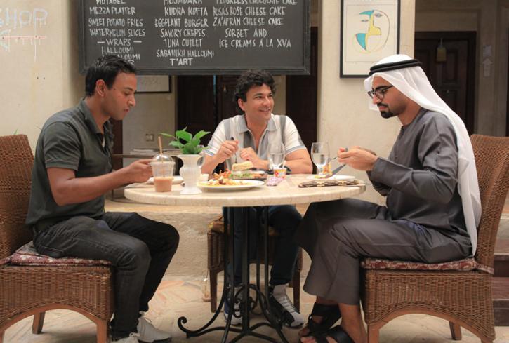 XVA cafe in Dubai, must visit cafe in Dubai, Chef Vikas Khanna at Dubai XVA cafe