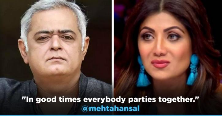Hansal Mehta Takes A Stand For Shilpa Shetty, Calls Out Bollywood Celebs For Their Silence