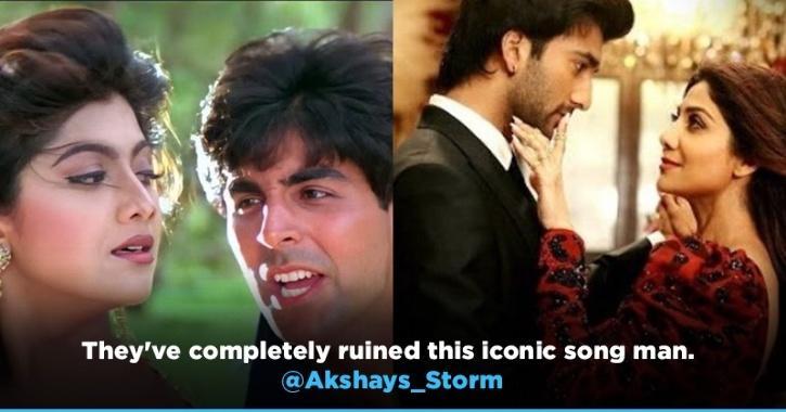 Akshay Kumar's Fans Angry With Shilpa Shetty's Chura Ke Dil Mera 2.0 Song Says Ruined The Iconic Song
