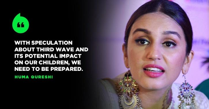 To Fight Covid-19 Third Wave, Huma Qureshi Helps In Setting Up 30-Bed Pediatric Ward In Delhi