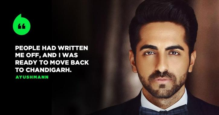 After String Of Flops, Ayushmann Khurrana Thought He
