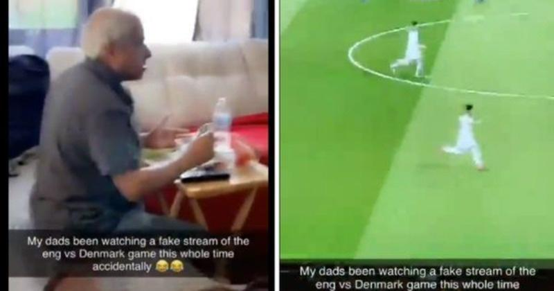 Lady Data Her Dad Watching FIFA For 45 Minutes Considering He Was Watching A Actual Euro Cup Match!