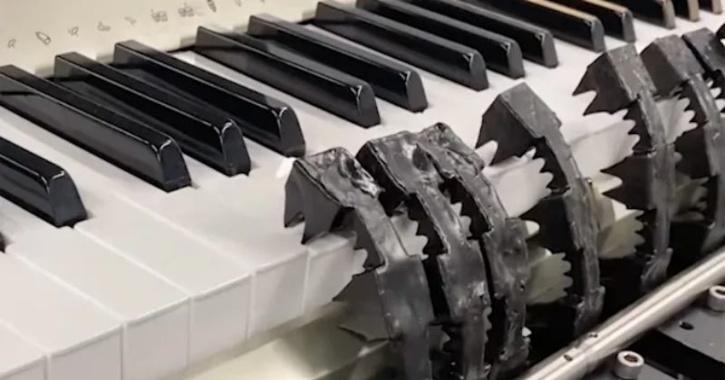 soft robot piano