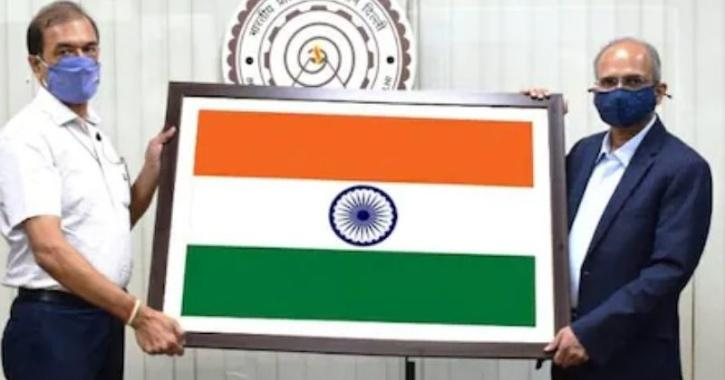 IIT delhi indian flag textile
