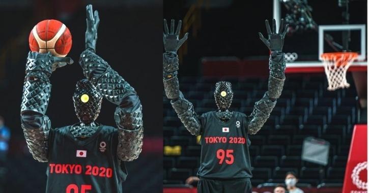 robot basketball tokyo olympics