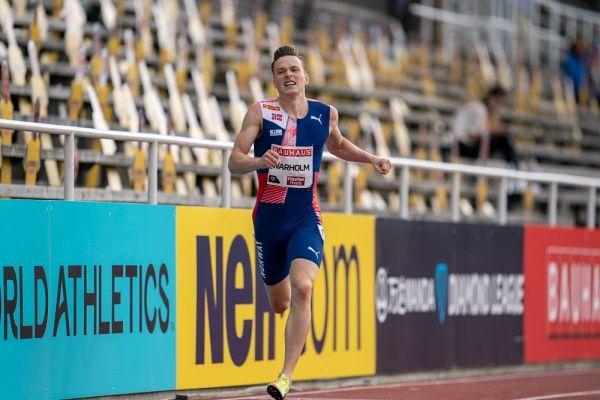 Norwegian Sprinter Karsten Warholm