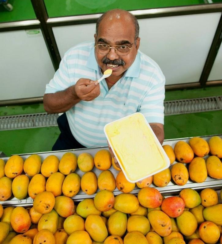 Raghunandan Srinivas Kamath founder of naturals ice cream