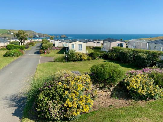 Mother Ivey's Bay Holiday Park in Cornwall