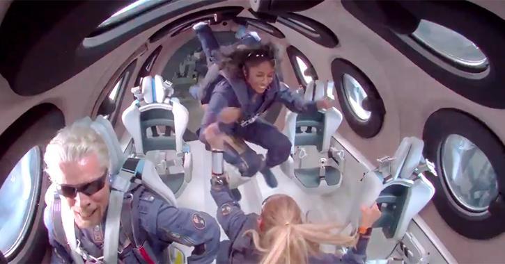 Sirisha Bandla in space