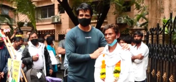 Sonu Sood's Fan Cycles 1200 km To Meet Him