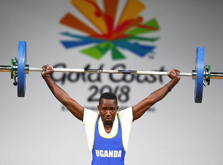 Ugandan weightlifter