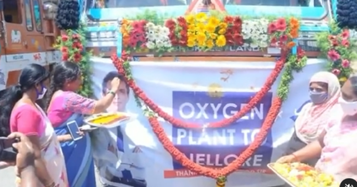 Sonu Sood Fulfils Promise, Sets Up First Oxygen Plant In Nellore Amid Predictions Of 3rd Wave