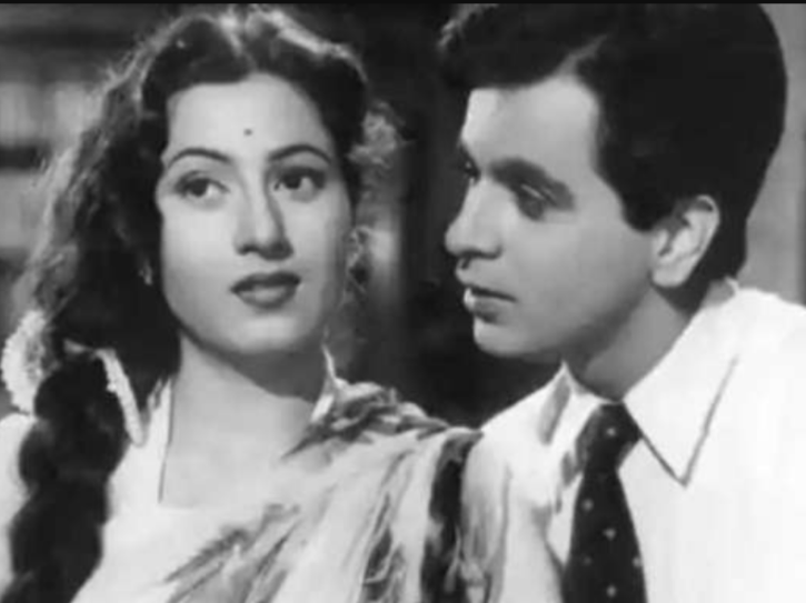 Dilip Kumar and Madhubala