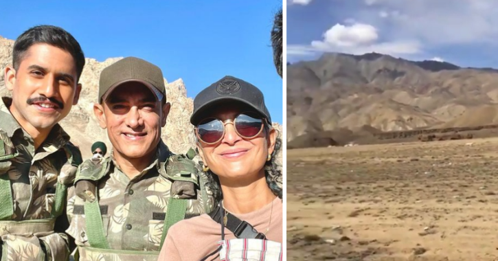 Twitter User Claims Aamir Khan And His Team Dumped Waste In Ladakh Village, Shares Video