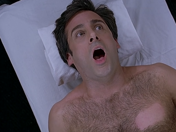 Steve Carell in The 40-Year-Old-Virgin