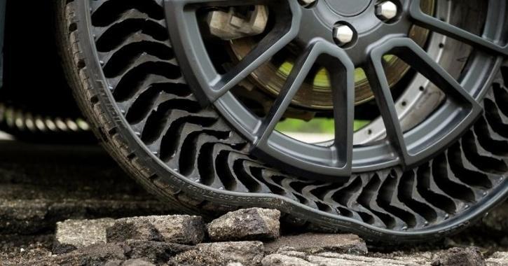 airless tyre tech