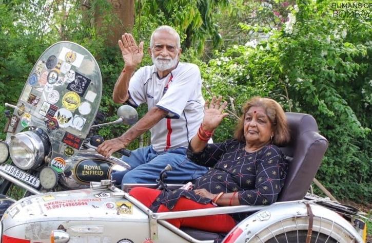 Elderly Vadodara Couple