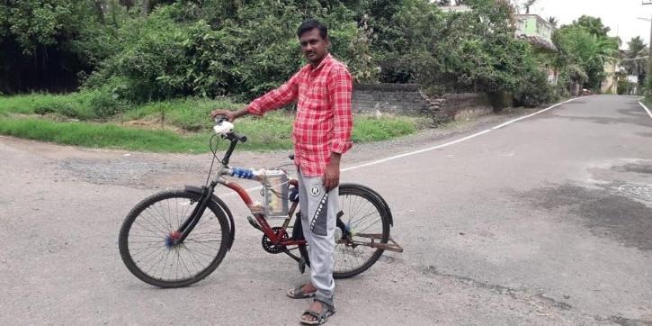 Baskaran creates e bike