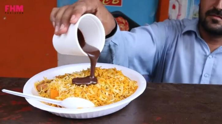 Chocolate Biryani