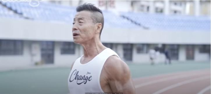 yang running at the age of 72