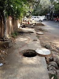 manholes in india