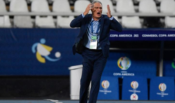 Brazil coach Tite