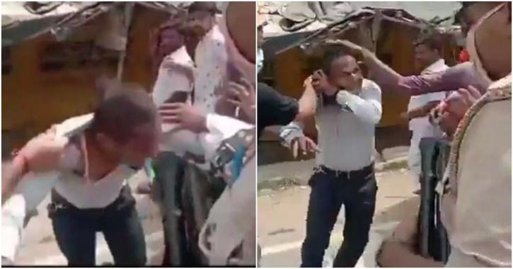 journalist beaten