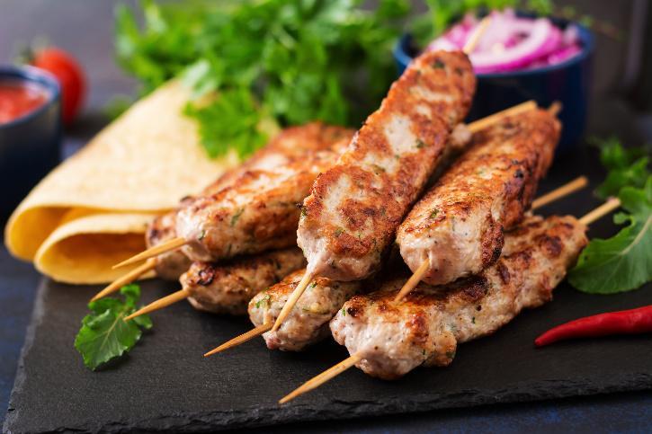 Kebab History India