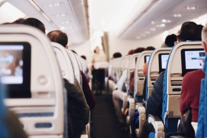 seats in an aeroplane