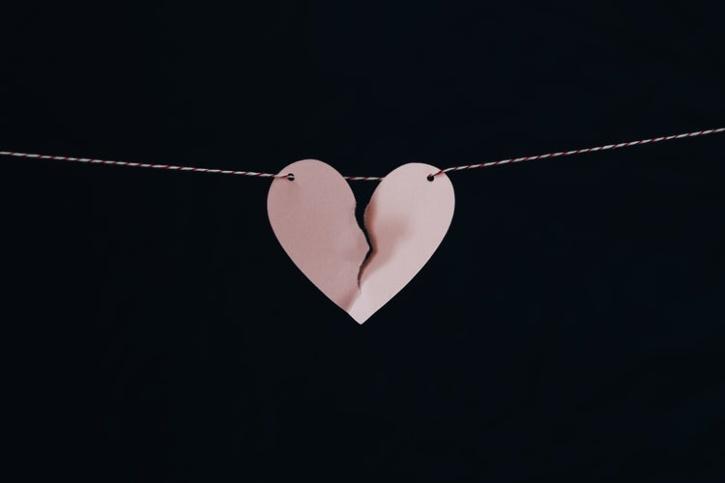 hearts breaking