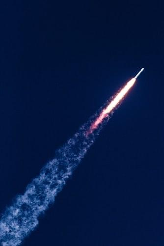 rocket going into space