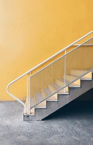 a normal staircase