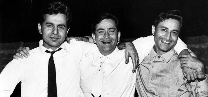 Dilip Kumar, Raj Kapoor, Dev Anand