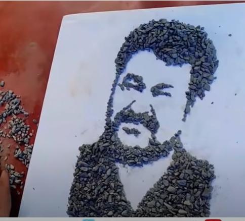 portrait of mohanlal