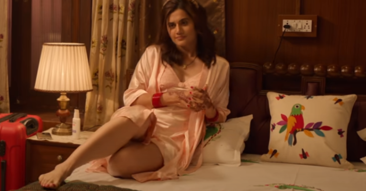 Taapsee Pannu Strongly Defends Haseen Dilbruba After Critics Says It Glorifies Toxic Masculine Love