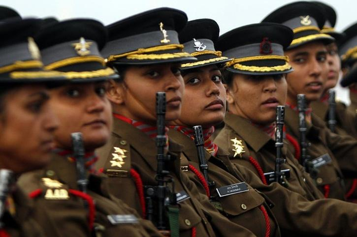 women indian army