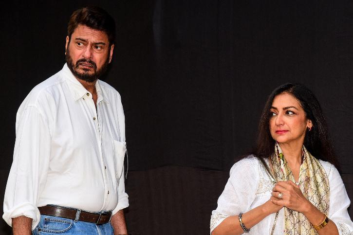 kanwaljit singh and wife Anuradha Patel.