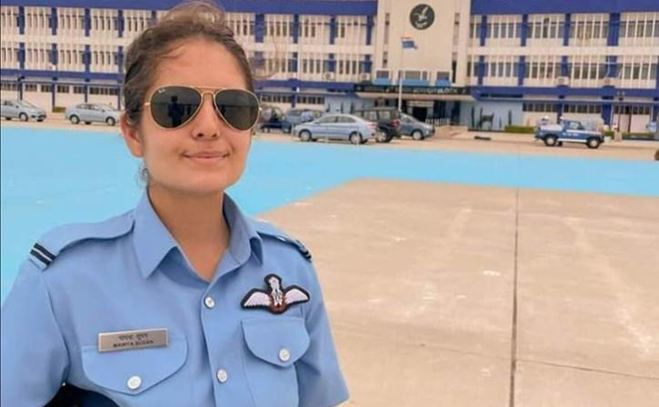 Mawya Sudan becomes IAF's 1st woman fighter pilot from J&K