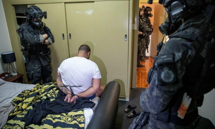 Criminal arrested by AFP