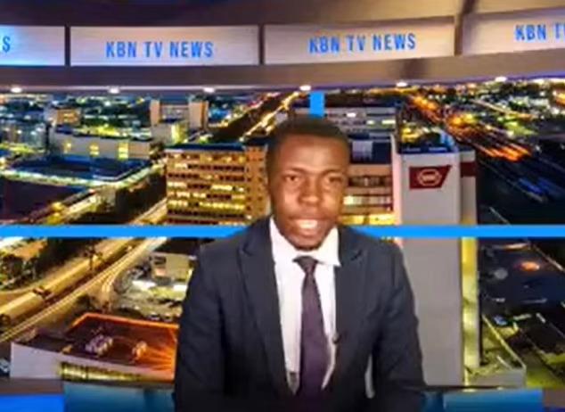KBN TV presenter Kabinda Kalimina