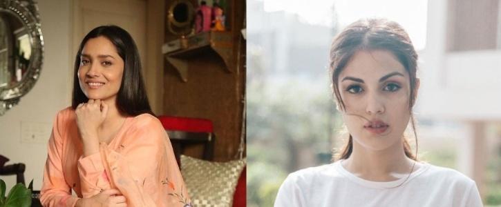 Ankita Lokhande and Rhea Chakraborty / Indiatimes