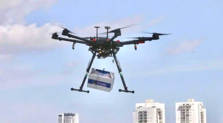 dunzo drone telangana