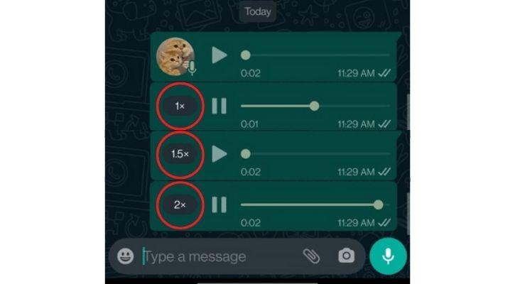 whatsapp voice message