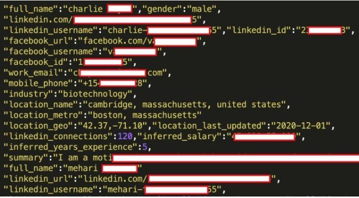 LinkedIn hack