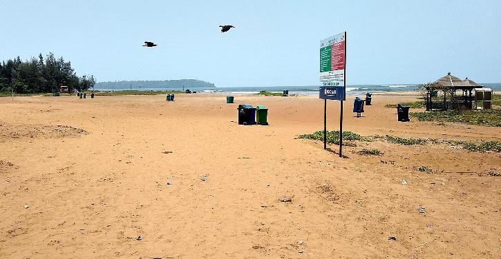 goa beach COVID Lockdown tourists