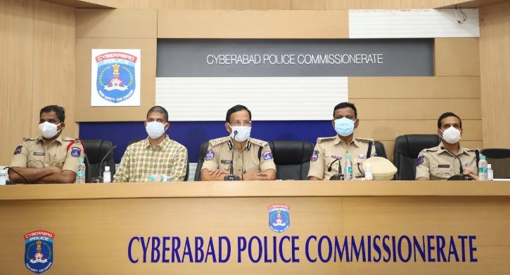 Cyberabad Police Commissioner VC Sajjanar