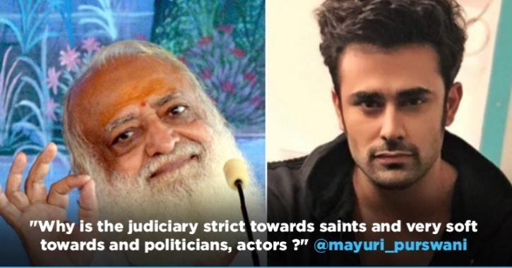 People Compare Pearl V Puri Rape Case To Asaram Bapu, Question